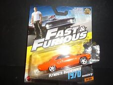 Hot Wheels Plymouth Road Runner 1970 Orange Fast and Furious 1/55