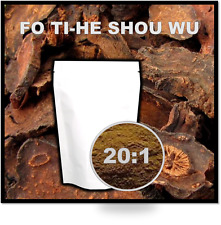FO TI / HE SHOU WU - 20:1 Concentrated extract - 50 GRAMS with mg scoop