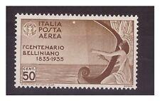 REGNO 1935  -  BELLINI  POSTA AEREA -  CENTESIMI 50   NUOVO  **