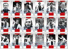 Ajax European Cup winners 1971 football trading cards Johan Cryuff