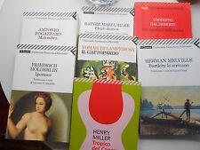 Lotto n.7 libri Feltrinelli, narrativa, saggistisca, filosofia