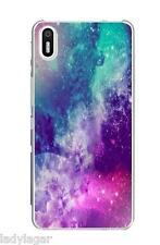 Funda carcasa silicona gel flexible estampado para Bq Aquaris X5 regalo lapiz