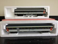 Vintage Lima 'HO' Coaches SNCF 309344 309340 BOXED Very Nice