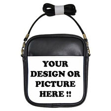 Personalized Custom Your Logo Design Photo Text Girls Sling Bag free shipping