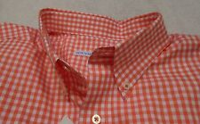 Southern Tide Cotton Blend Gingham Check Skipjack Sport Shirt NWT Medium  $99.50