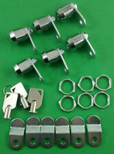 "RV Designer L325-6 RV Motorhome 5/8"" Ace Key Compartment Door Lock 6 Pack"