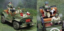 COLLECTORS SHOWCASE WW2 AMERICAN NORMANDY CS00914 PATTON JEEP WITH WILLY MIB