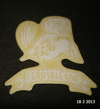 1 AUTHENTIC TERRIBLE ONE BMX FRAME LOGO STICKER / DECAL / T1 #37 AUFKLEBER