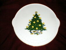 Royal Eagle Bavaria Edelstein Christmas Tree Cake Plate