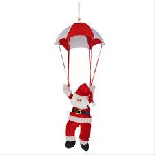 Christmas Tree Hanging Decoration Parachute Snowman Santa Claus Ornaments Xmas