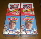 4 DONRUSS BASEBALL CARD UNOPENED WAX BOXES - TWO 1988 - TWO 1990