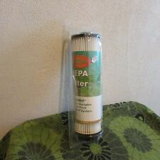 NEW, UNSEALED. ENVIROCARE/ HOOVER HEPA FILTER # 923. BAGLESS UPRIGHT TWIN