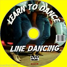 BEGINNERS LESSONS LINE DANCING LEARN 12 POPULAR ROUTINES EASY TUITION DVD+CD NEW