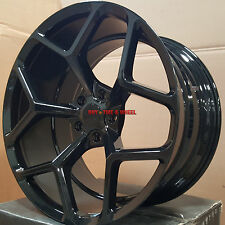 "20"" Staggered MRR Wheels Chevy Camaro ZL1 Black Z28 Rims RS SS 20x10 20x11 LS"