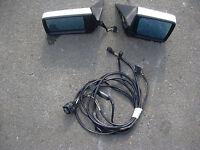 2 elektrische Außenspiegel mit Kabelbaum Mercedes-Benz W124 W 124 Lim/T-Mod
