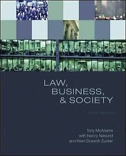 Law, Business, and Society by McAdams, Tony