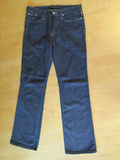 VERSACE Jeans Couture Wool Blend Dark Wash Jeans sz 30 Light Stretch