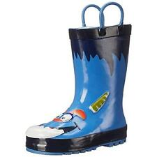 Western Chief 5521 Monster Blue Graphic Rain Boots Shoes 12 Medium (D) BHFO
