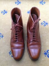John Lobb Mens Brown Leather Lace Up boots Shoes UK 10 US 11 EU 44 Morton