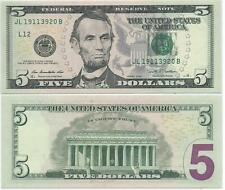 2009 Five Dollar $5 Federal Reserve Note FRN from San Francisco - F#1994L