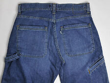 Levis SilverTab Vintage Carpenter Jeans Boot Cut 32X36 Meas:33X35.5 Tall Guys