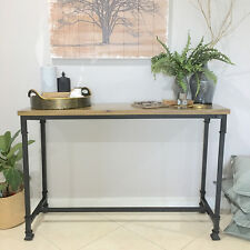 Solid Timber Console/Hall Table/Stand/Shelf/Farmhouse/Industrial/French Country