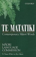 1996-08-08, Te Matatiki: Contemporary Maori Words, Maori Language Commission, Ve