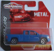 Majorette - Chevy Silverado Pickup / Chevrolet blau Neu/OVP