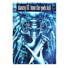 "DANZIG POSTER ""#4 HOW THE GODS KILL"""