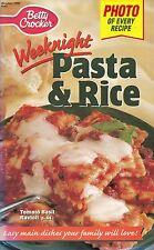 WEEKNIGHT PASTA & RICE BETTY CROCKER COOKBOOK OCTOBER 1998 #143 MEXI SHELLS MORE