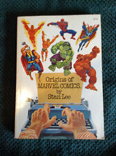 Origins of Marvel Comics autograph by Stan Lee signed in 1981 COA 1974 paperback