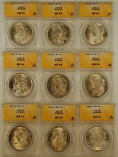 1921 Morgan Silver Dollar Coin, ANACS MS-64, From Lot *Must Read Description*,JT