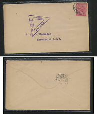 Natal  censor cover  1902   local  use        MS1224
