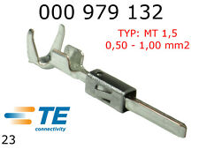 Terminals Male MT 1.5K Tin Plated Terminal 0.50 - 1.00 mm2 TYCO 10pcs 000979132