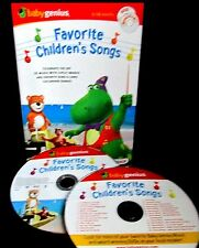 Baby Genius Favorite Childrens Songs Sing Along DVD & CD 0-48 Months Music Kids