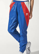 SIZE EXTRA-SMALL 8 - ADIDAS ORIGINALS ARCHIVE SLIM CUFFED UNISEX PANTS - MULTI
