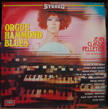 "JEAN CLAUDE PELLETIER ORGUE HAMMOND ""BLUES"" BEATNICK CHEESECAKE COVER FRENCH LP"