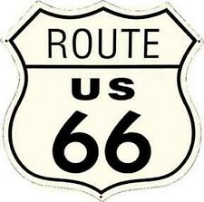 Route 66 Hwy Sign   Vintage-1950's  Style  Travel Decal