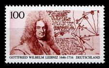 Gelehrter Gottfried Leibniz. 1W. BRD 1996