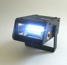 Mini Strobe Light Sound Effects LED Multiple Settings Halloween Party Lighting