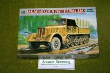 TRUMPETER FAMO SD. KFZ. 9 18 TON HALFTRACK IN SCALA 1/72 7203