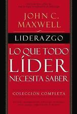 Liderazgo : Lo Que Todo líder Necesita Saber by John C. Maxwell (2016,...