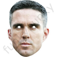 Kevin Pietersen England Cricket Cricketer Card Mask. All Our Masks Are Pre-Cut!