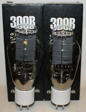 Match'd Pair Electro Harmonix 300B tubes, Brand NEW in Box