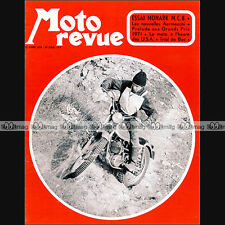 MOTO REVUE N°2024 TRIAL CHARLES COUTARD AERMACCHI 125 & 350 GT MONARK MCB 1971