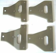 "Military Jeep, Willys MB, Ford GPW, Gusset, Set of 4, A1127-F,  ""F"" Marked G503"