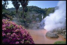 654018 tradicional Agua Mineral Baño bephu Japón A4 Foto Impresión
