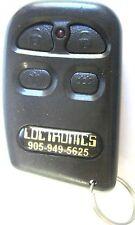 Loctronics keyless remote entry MKYMT9207TX transmitter starter 4btn phob keyfob