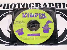 Kid Pix Studio Deluxe Windows and Macintosh CD Rom Family Digital Art Studio