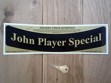 John Player Special HELMET VISOR SUNSTRIP Sticker Race RallyCar Racing JPS Lotus